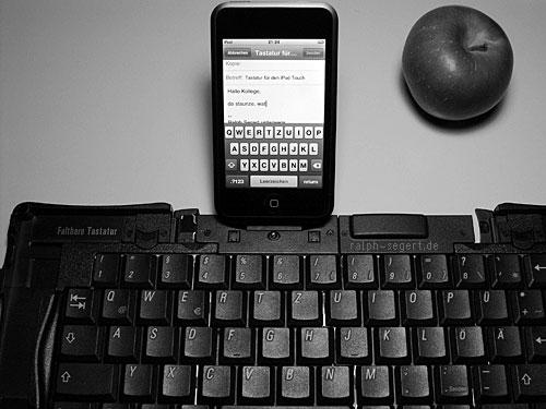 Faltbare iPod Touch Tastatur?